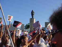 Villa Clara marchó unida este 1ro de Mayo.