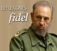 Cinismo genocida es el titulo de la última Reflexión de Fidel.