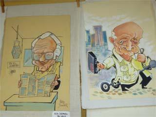 Inaugurada exposición  por el Dia de la Prensa Cubana.